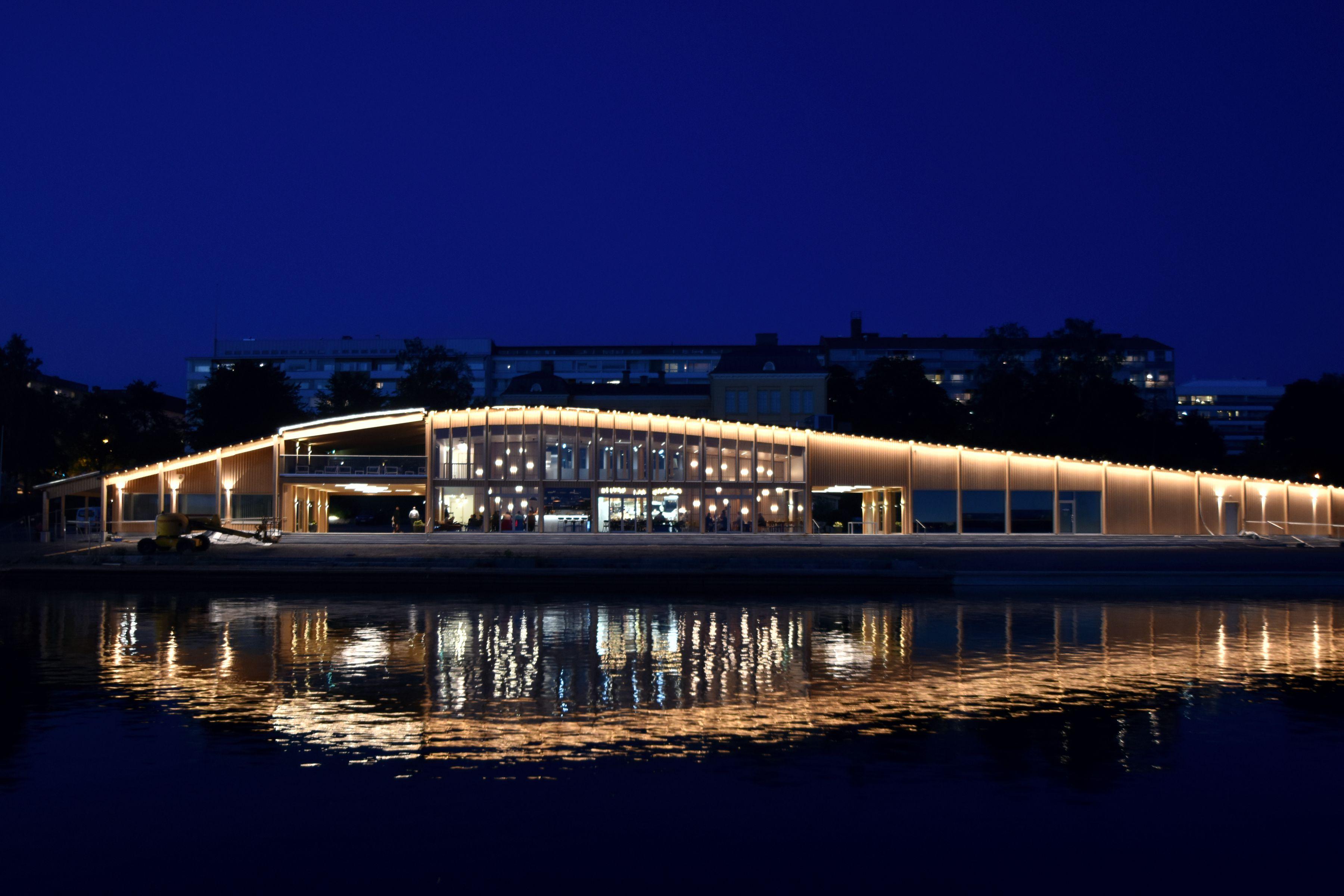 Lighting design public building