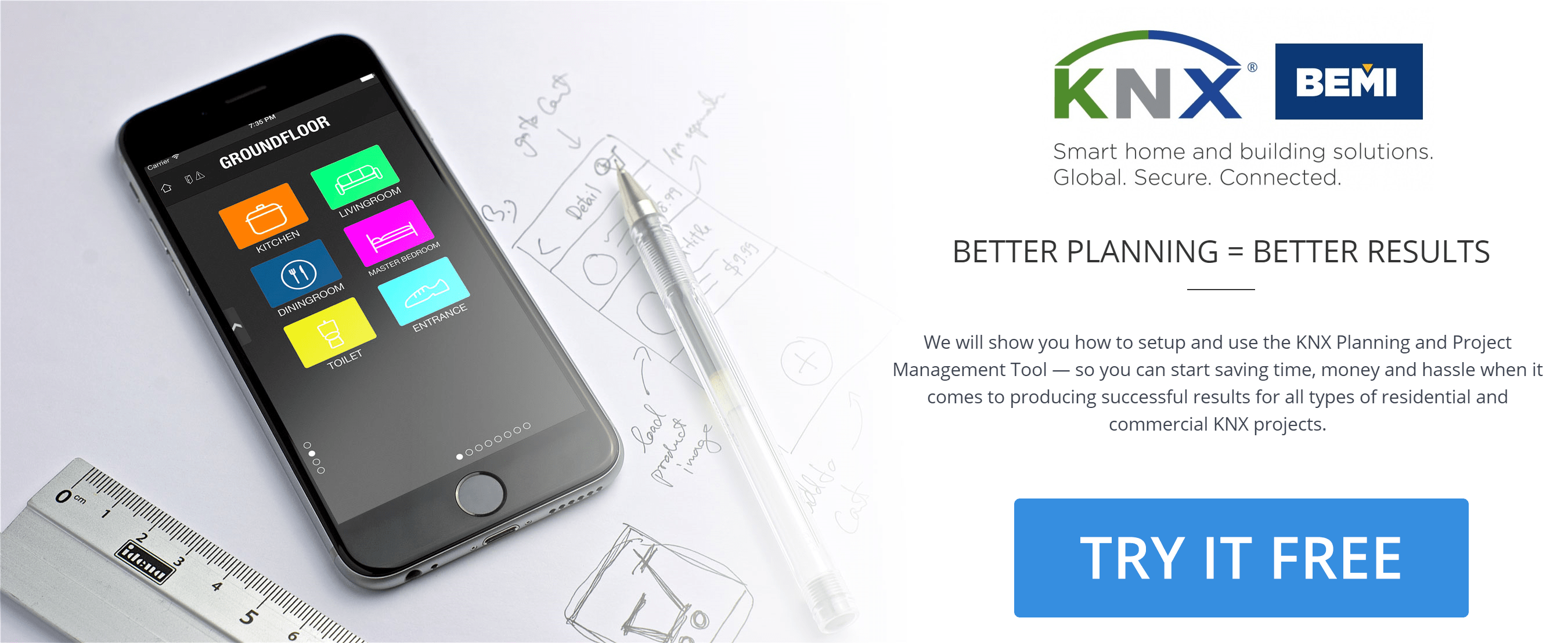 KNX systems planning and project management