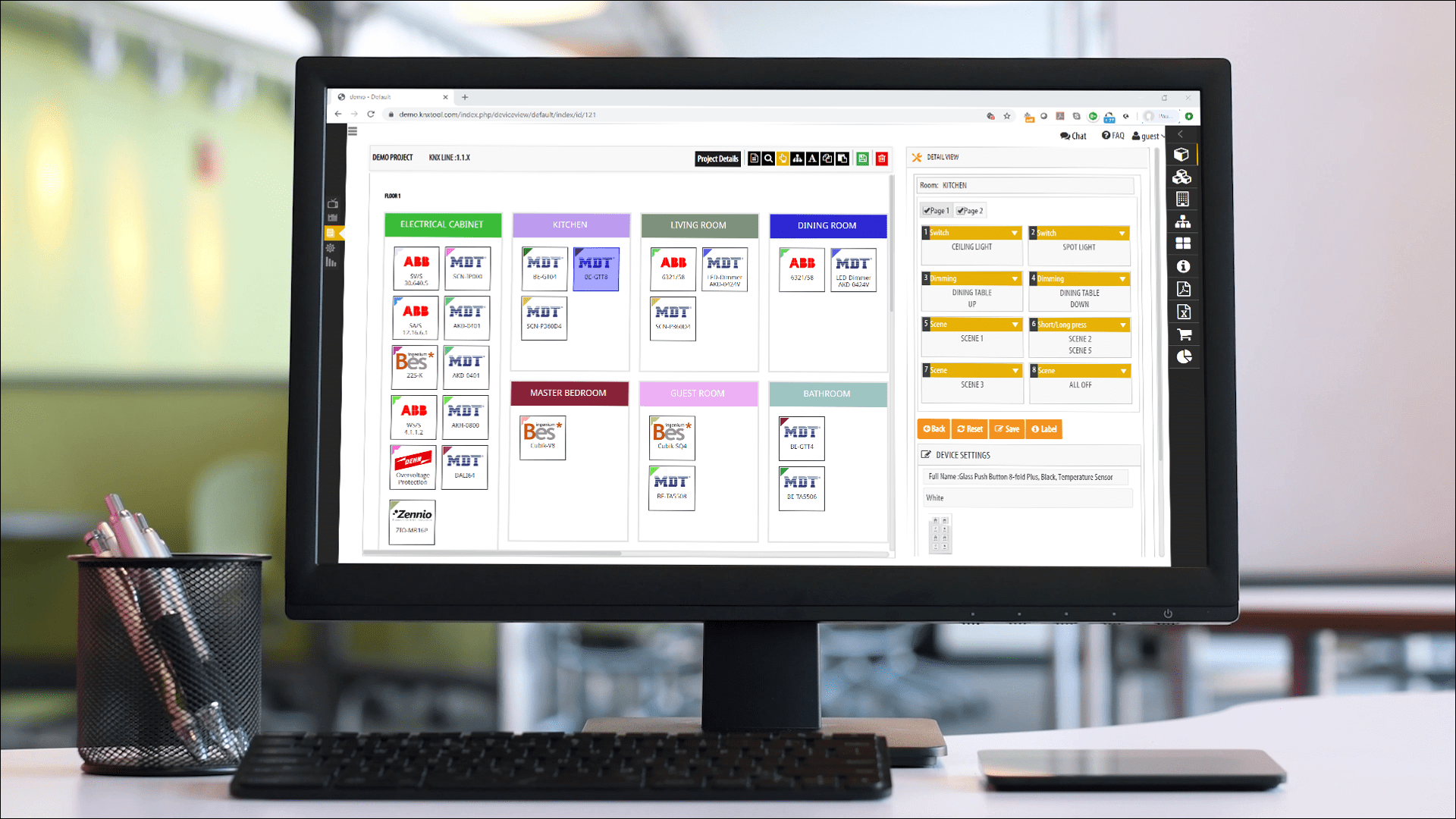 KNX Design and Planning - KNX Project Management Tool